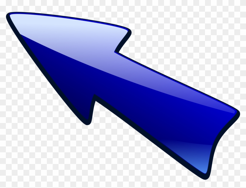 This Free Icons Png Design Of Long Arrow Up Left - Arrow Left Up Clipart Transparent Png #5107589