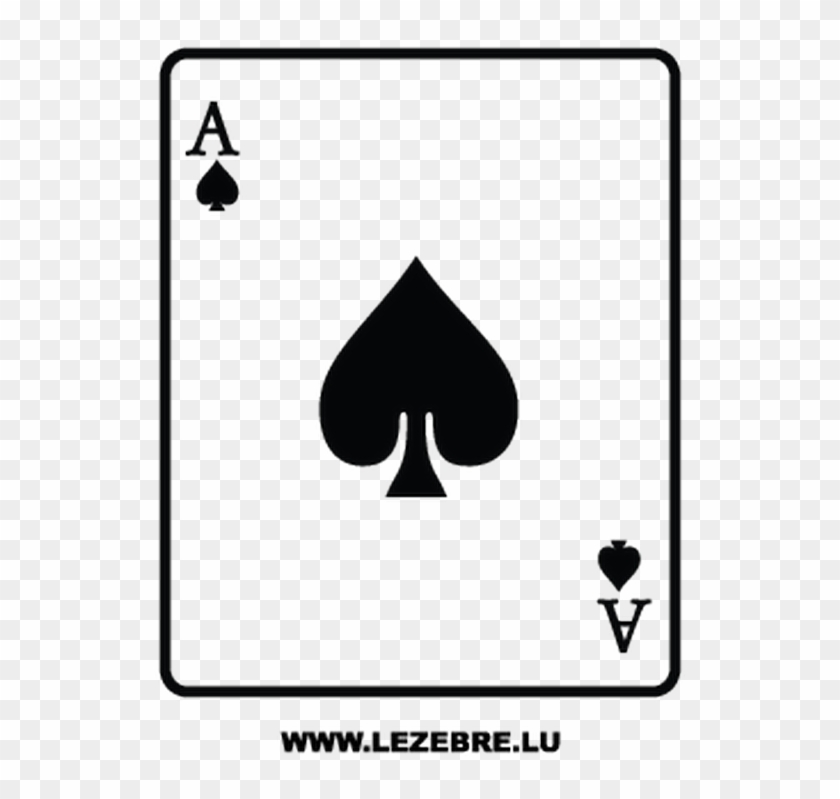 carte as de pique Carte As De Pique Clipart (#5125846)   PikPng