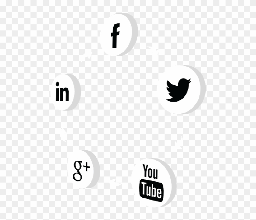 The Insider's Social Media Guide - Social Media In Black And White Clipart #5131581