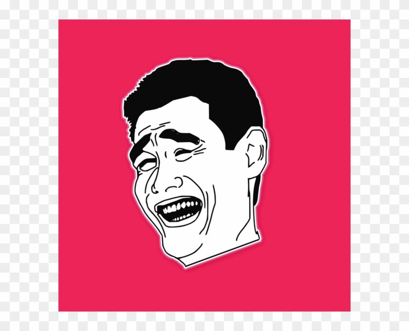 Yao Ming Bitch Please Rage Comic Meme Mask - Meme On Student Life Clipart #5138460
