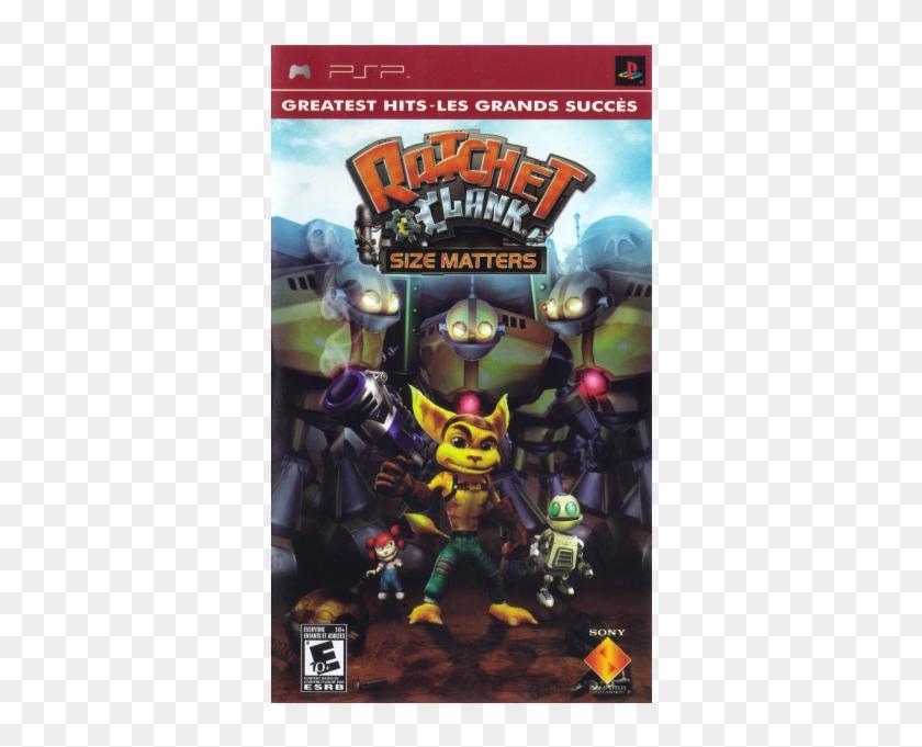 Ratchet & Clank - Ratchet & Clank Size Matters Psp Clipart #5141071