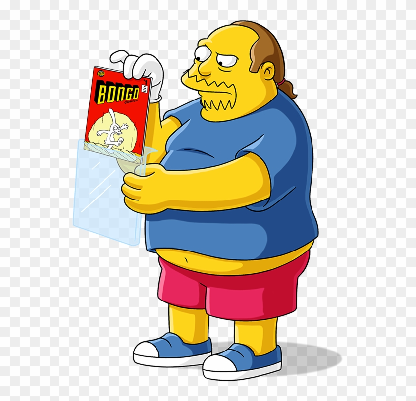 Looking Beyond Comic Con, It Seems As If Everyone Has - Simpsons Comic Book Guy Home Clipart #5145397