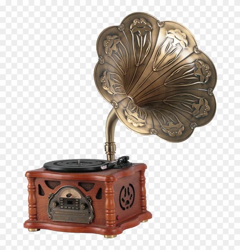 Retro Home Decoration Antique Imitation Gramophone - Gramophone Decoration Clipart #5157542