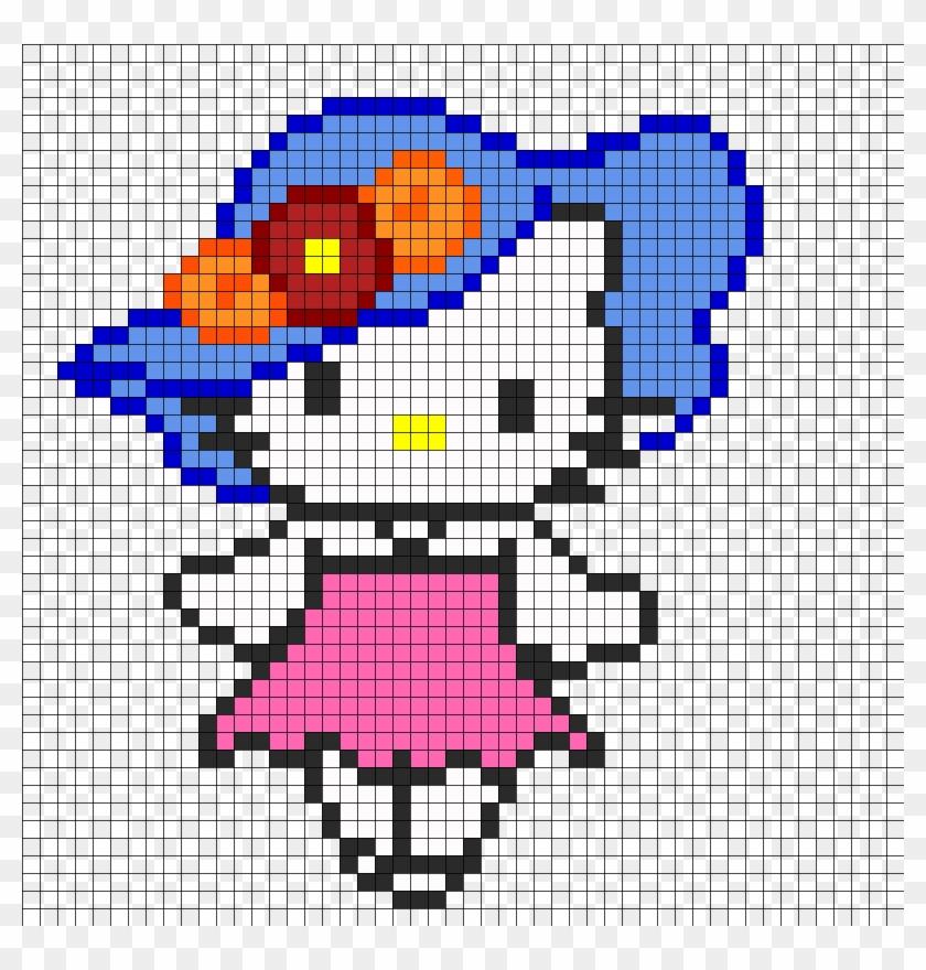Hello Kitty Perler Bead Pattern 196224 Minecraft Pretzel