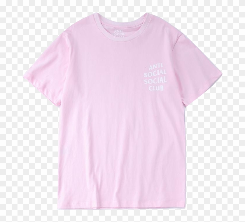 Anti Social Social Club Logo Tee - Active Shirt Clipart #5185271
