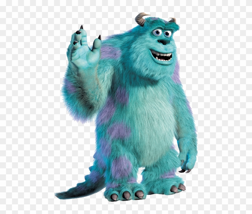 Monsters Inc Scream Arena, James P Sullivan, Mike Wazowski, - Sully Monsters Inc Characters Clipart #5193702