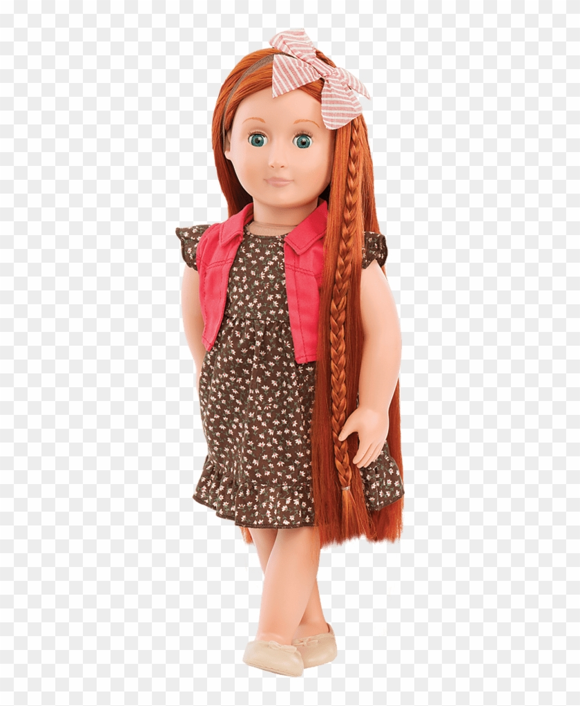 Buy A Doll With Trendy Clothes - Our Generation Dolls With Long Hair Clipart #5197072