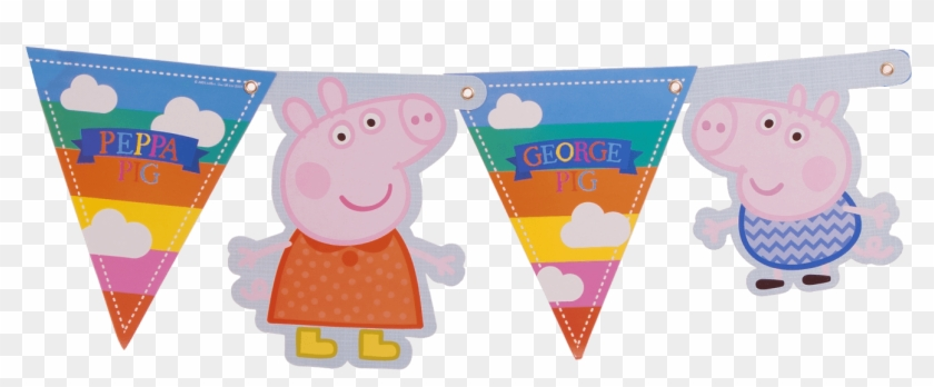 Peppa Pig Banner Peppa Pig Clipart 523680 Pikpng