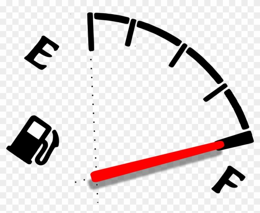 Fuel Gauge Gasoline - Full Gas Tank Png Clipart #523854