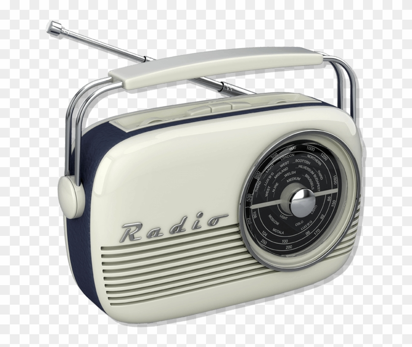 Old School Radio - Radio Png Clipart #524996