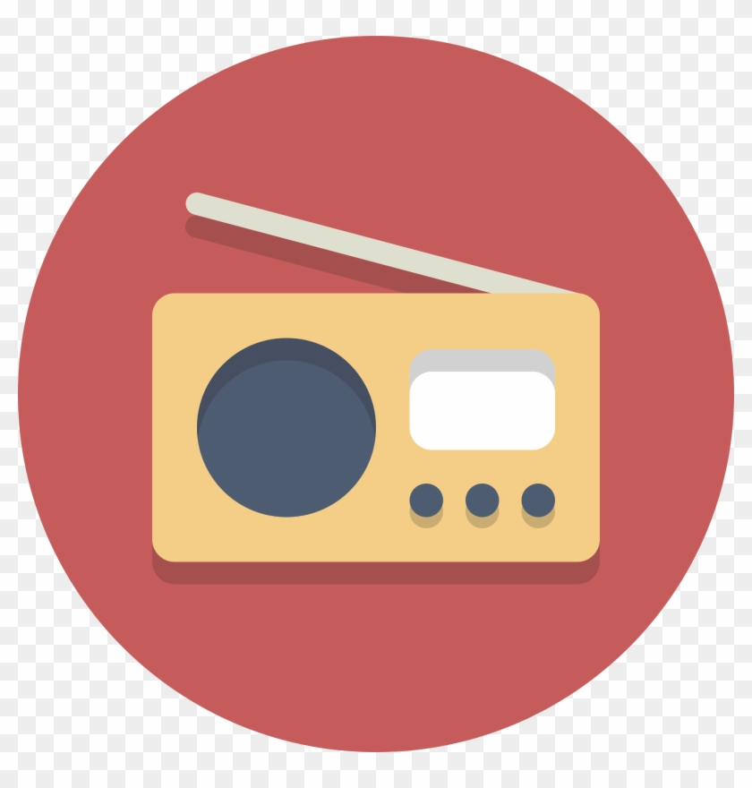 Radio Png Icon - Radio Icon Png Clipart #525054
