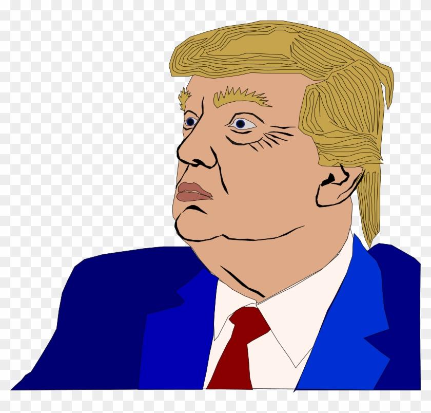 Medium Image - Donald Trump Clipart - Png Download #525662
