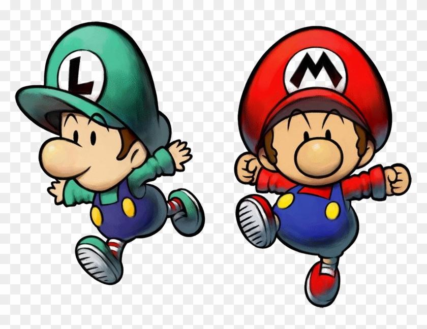 Mario And Luigi Png Pic Baby Mario And Baby Luigi