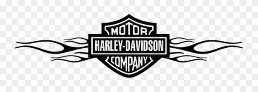Harley Davidson Flaming Decal - Harley Davidson Clipart #5205251