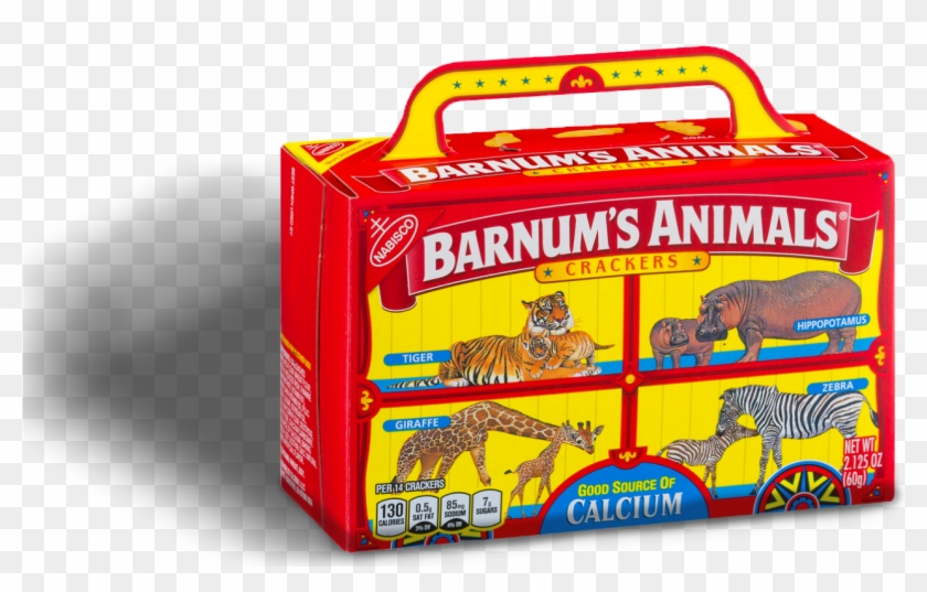 Barnum S Animal Crackers Clipart 5207428 Pikpng