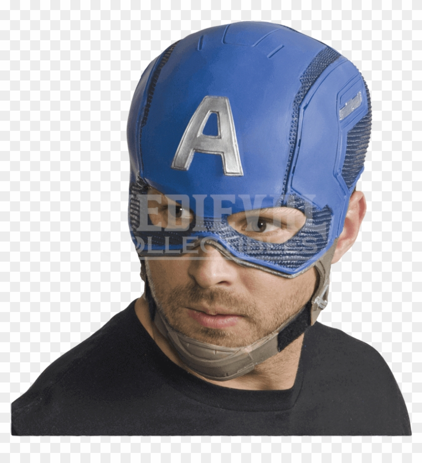 adult avengers 2 captain america full mask captain america latex mask clipart 5226838 pikpng captain america latex mask clipart