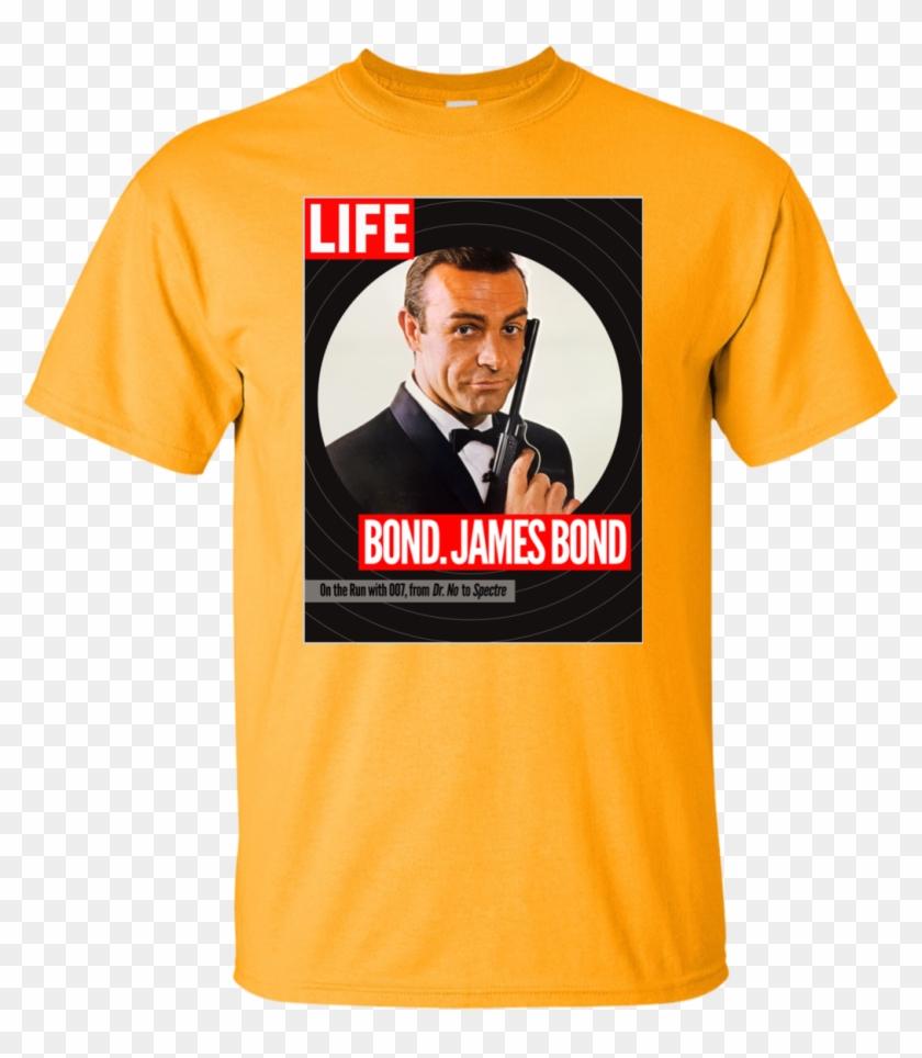 Mens T Shirts Fashion 100% Cotton Short Sleeve O Neck - Sean Connery James Bond Clipart #5235977