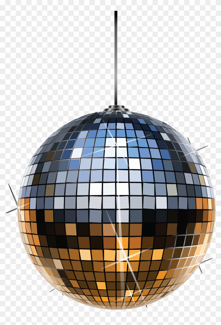 New Years Eve Ball Png - Bola Disco Dibujo Clipart #5244549