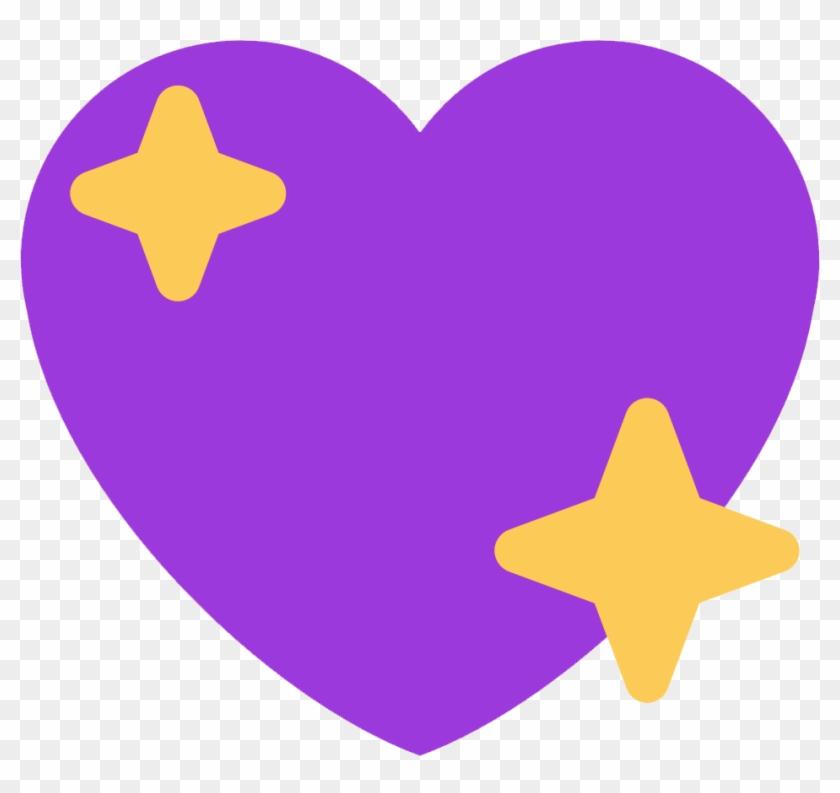 Et Elle Est Trop Bien Agnagnagnagna 🦈 - Sparkle Heart Emoji Twitter Clipart #5249903