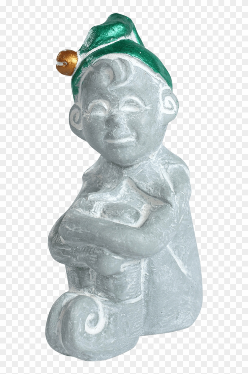 This Is Santa's Right Hand Man - Statue Clipart #5262131