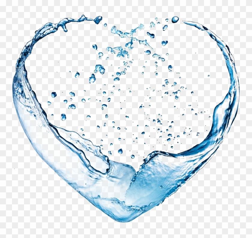 Heart Organ Png - Splash Water Heart Png Clipart #5262175