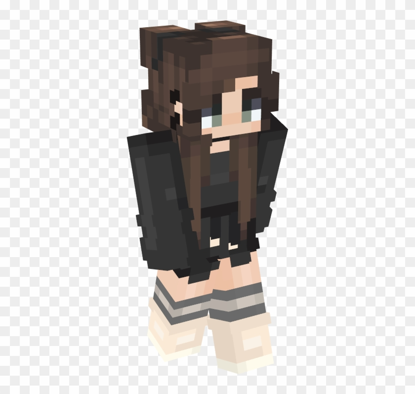 Mc Skins, Minecraft Girl Skins, Minecraft Stuff - School Girl Minecraft Skin Clipart #5267911