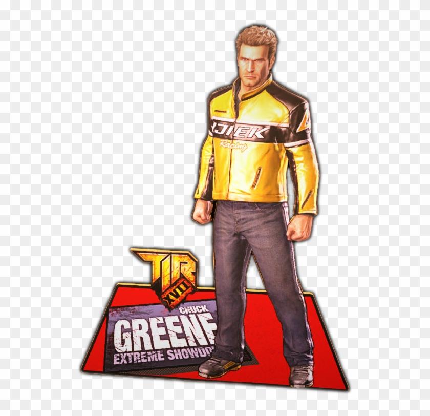 Chuck Greene Dead Rising 2 Clipart 5271904 Pikpng