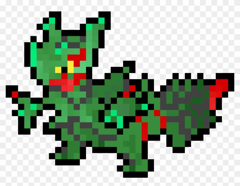 Favorite Mon Pixel Art Pokemon Mega Clipart 5272811 Pikpng