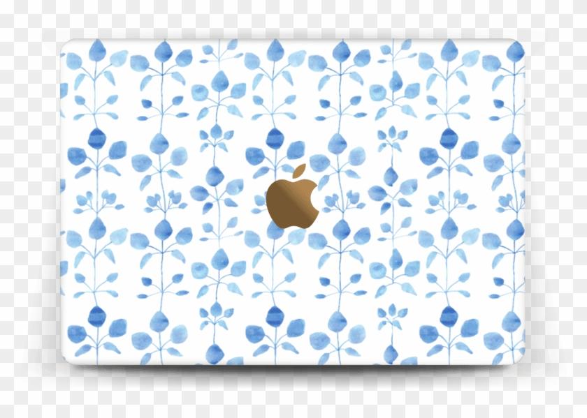Flores Azules - Motif Clipart #5286414