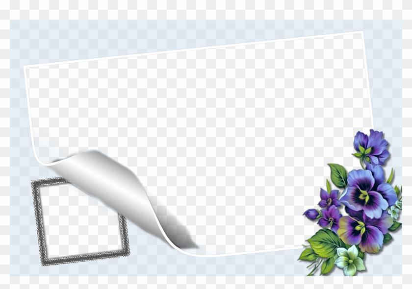 Bonito Marco Con Flores Azules Para Una Fotografia - University Of Kufa Clipart #5286816