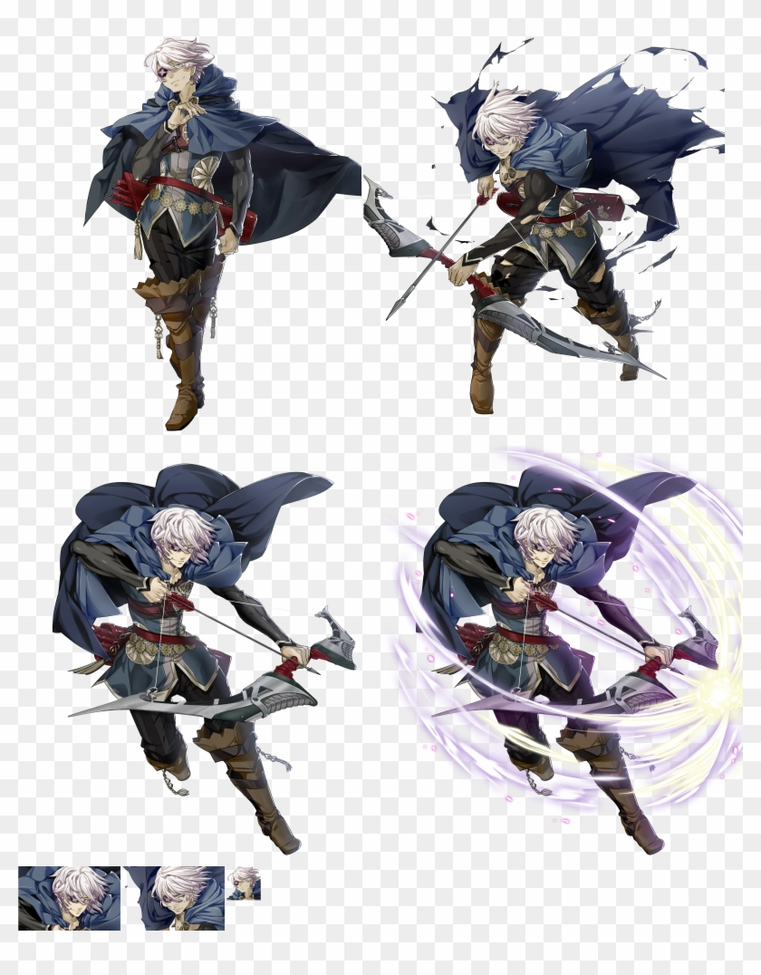 Niles Stars In The Latest Trailer For Fire Emblem Warriors - Zero Fire Emblem Heroes Clipart #5287832