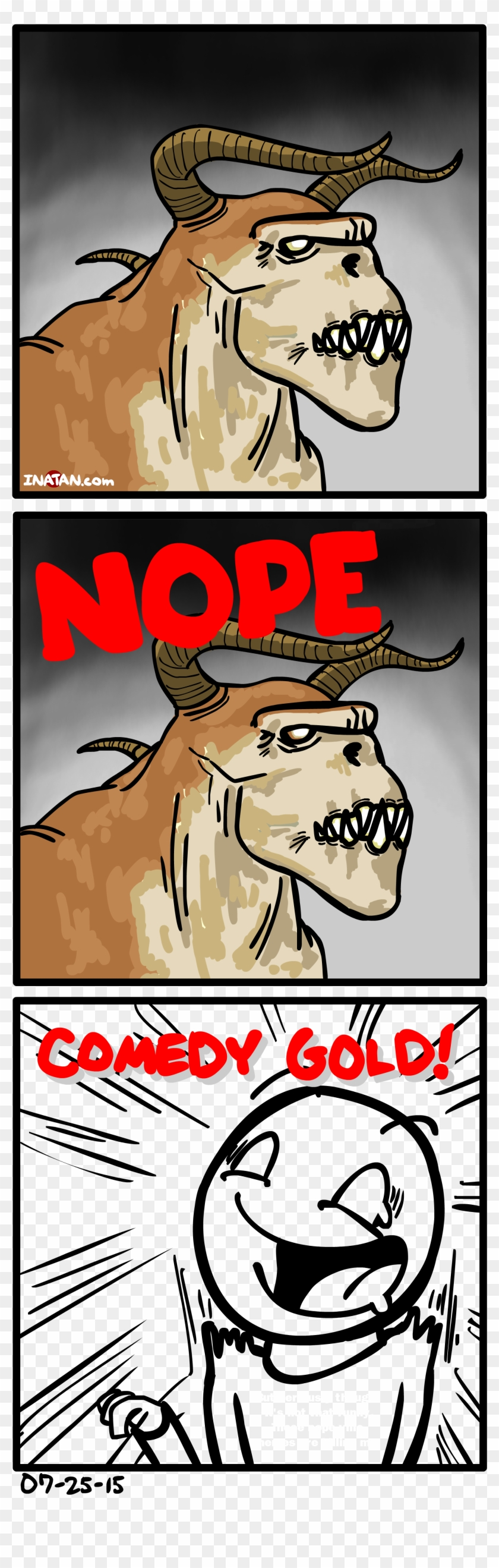I Sometimes Enjoy Making Edgy Comics, Thoughts On Deathclaw - Fallout Deathclaw Comic Clipart #5288685