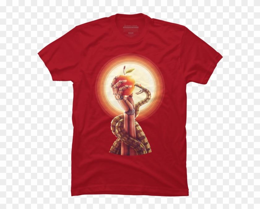 Deus Ex Machina - Information Technology T Shirt Design Clipart #5288762