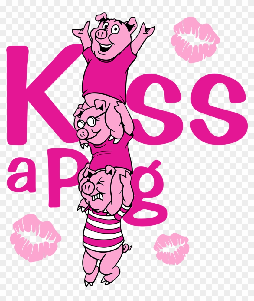 Kiss A Pig @ Md State Bbq Bash The Boys And Girls Clubs - Cala Boca E Me Beija Clipart #5293372