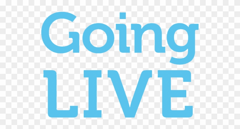 Going Live Tv - Graphic Design Clipart #5295972