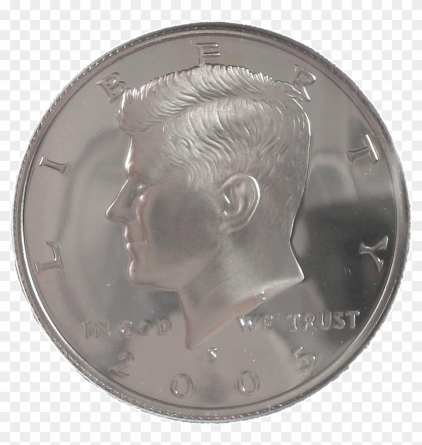 2005 Proof Silver Kennedy Half Dollar Roll