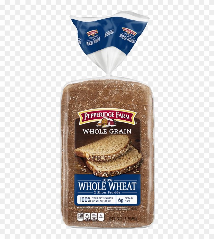 Whole Grain Breads - Pepperidge Farms 15 Grain Bread Nutrition Label Clipart #531643