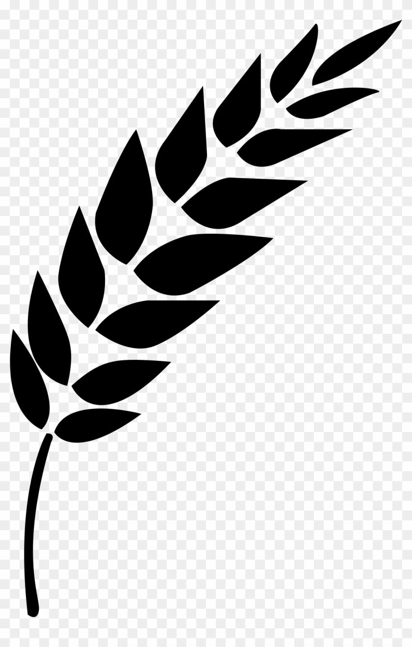 2000 X 3030 16 - Black And White Wheat Stalk Clipart #532046