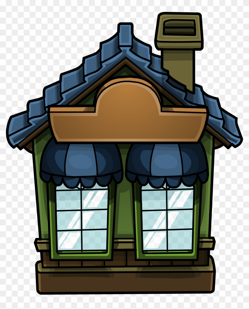 Cozy Green House Furniture Icon Id 929 - Cozy Home Png Clipart #532293