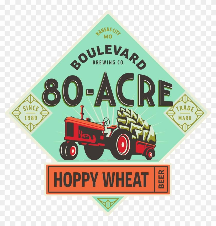 80-acre Hoppy Wheat Beer - Boulevard Tropical Pale Ale Clipart #532775