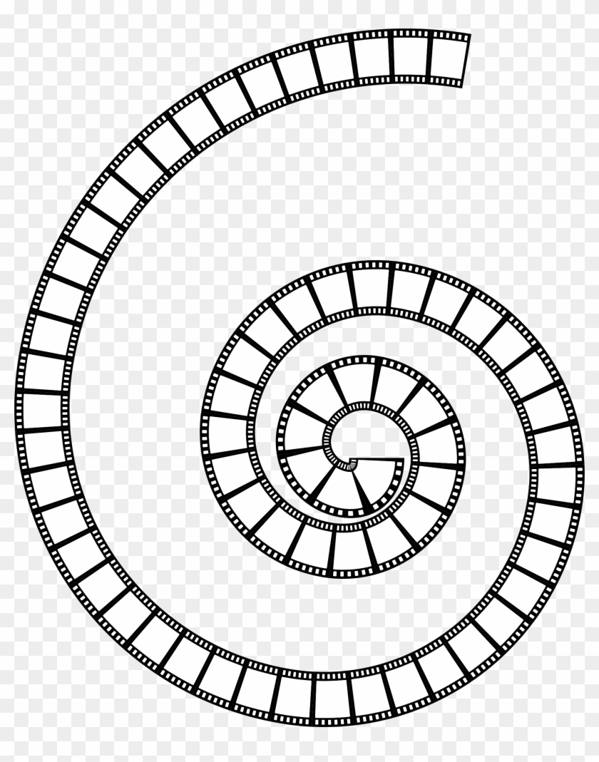 This Free Icons Png Design Of Film Strip Spiral Clipart #532897
