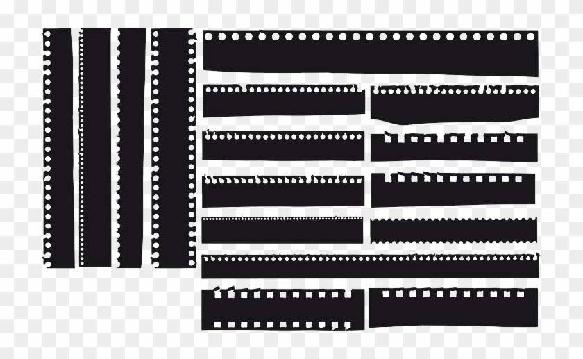 Film Strip Vector Free - Film Strip Png Vector Clipart #533019