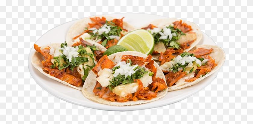 Tacos Pastor Png - Plato De Tacos Al Pastor Clipart #533468