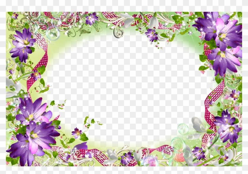 Icon Spring Png - Transparent Flower Frames Png Clipart #535600
