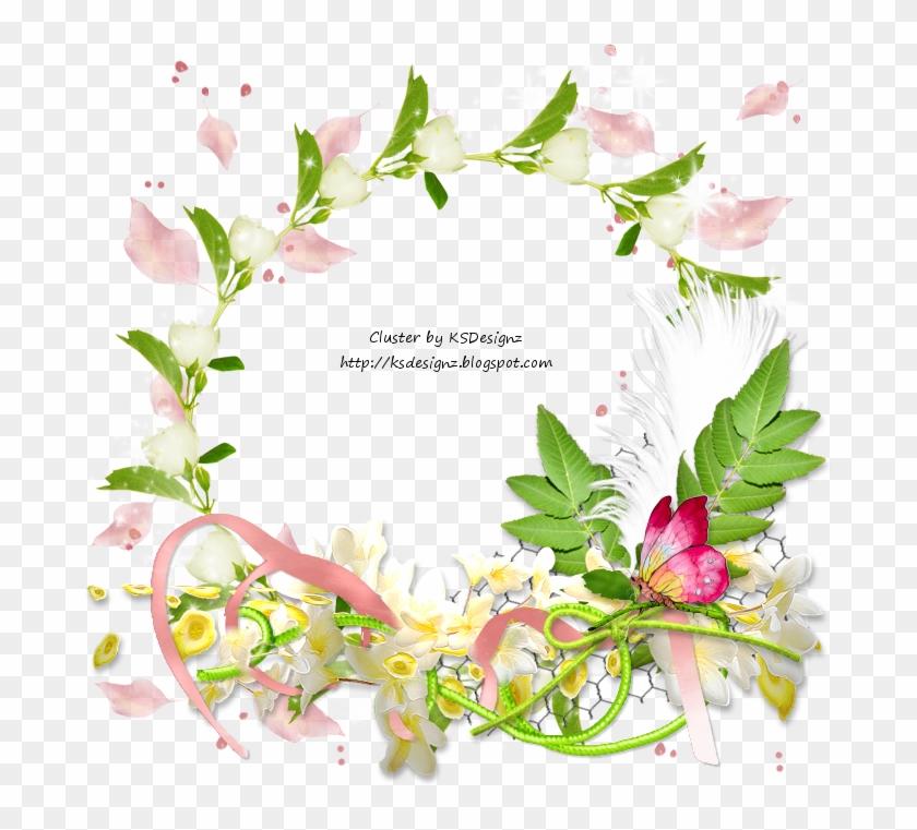 Ftu Cluster - Spring Flowers - Spring Ftu Cluster Frames Clipart #536406