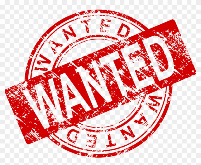 Wanted Stamp Png Hd - Wanted Stamp Png Clipart #536733
