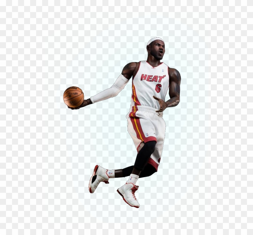 Lebron James Full Body Png Dribble Basketball Clipart 539215 Pikpng