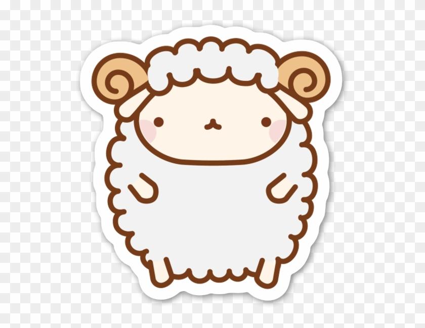 Cute Sheep - Cute Drawings Of Sheep Clipart #539801