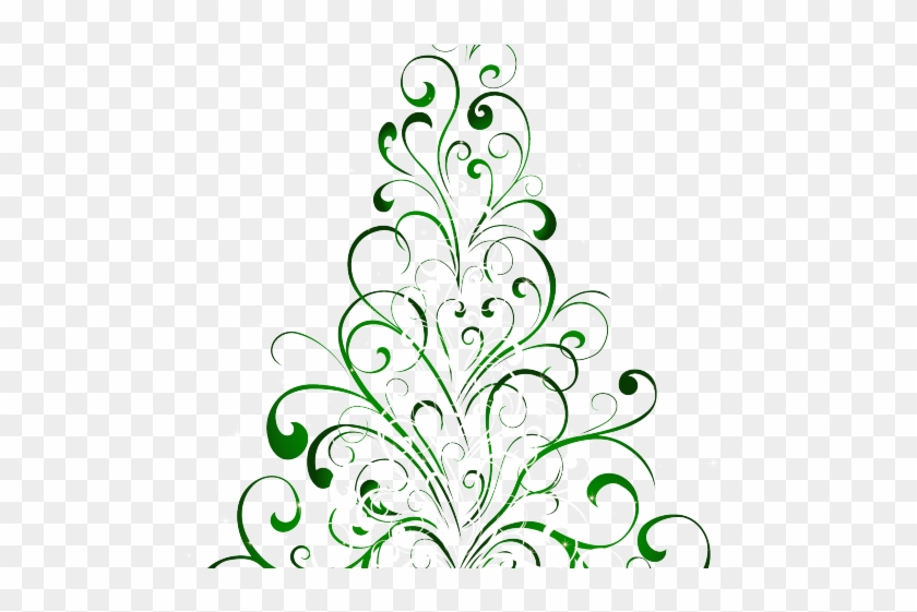 Christmas Ornament Clipart Line Art - Christmas Tree Clip Art Free Transparent - Png Download #5321108