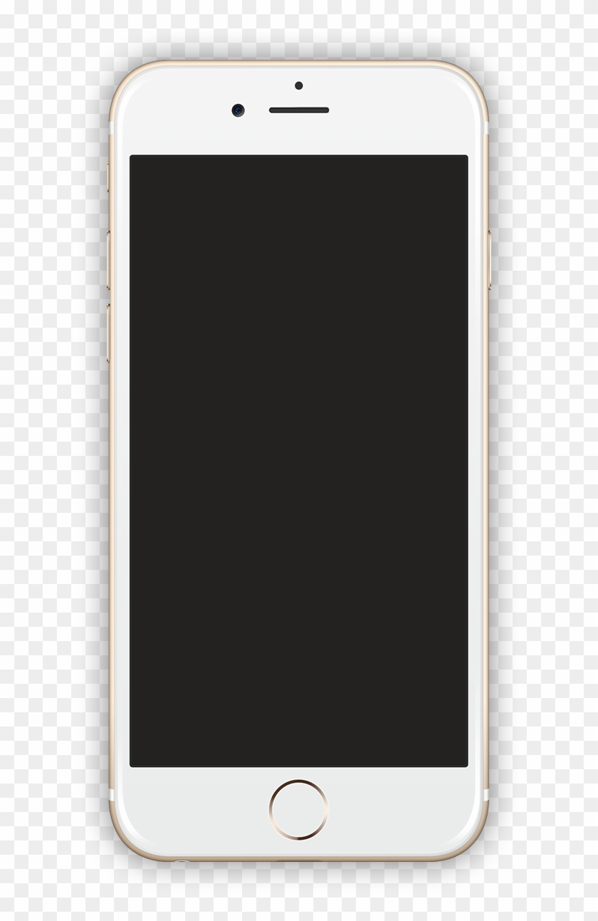 Iphone Gold , 2017 01 10 - Mobile Screen Iphone Png Clipart #5335386